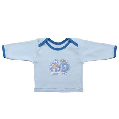 Кофта детская (5 шт. в уп), рост 62 см, цвет голубой 4103