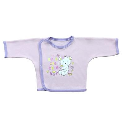 Распашонка детская (5 шт. в уп.), рост 68 см, цвет розовый 5303