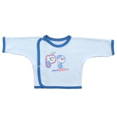 Распашонка детская (5 шт. в уп.), рост 68 см, цвет голубой 5303