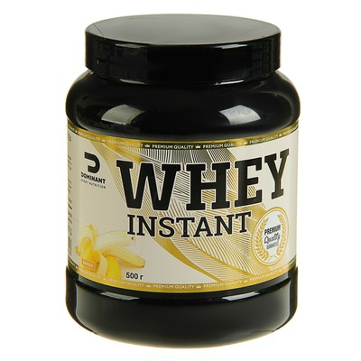 Протеин DOMINANT WHEY 500g Banana (Банан)