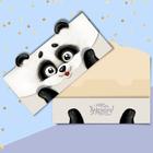 Конверт для денег формовой «Весёлая панда», 17,5 х 9 см