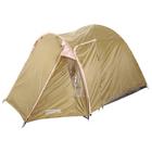 Палатка туристическая SKAUN 4-х местная, цвет коричневый