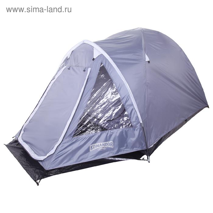 Палатка туристическая ARION 3-х местная, цвет серый