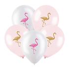 "Шар латексный 12"" «Фламинго», пастель, 2-сторонний, набор 100 шт., МИКС - фото 308469364"