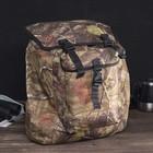 """Рюкзак туристический """"Пикник"""", 30 л, отдел на шнурке, наружный карман, цвет камуфляж Лес"""