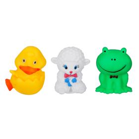 Набор игрушек для ванны, 3 шт., МИКС