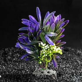 Растение искусственное аквариумное, 14,5 х 13 х 13 см
