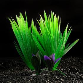 Растение искусственное аквариумное, 18 х 10 х 11,5 см  микс цветов