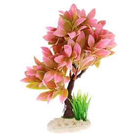Растение искусственное аквариумное, 15,5 х 12 х 20,5 см - фото 7381939