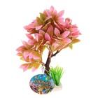 Растение искусственное аквариумное, 15,5 х 12 х 20,5 см - фото 7381941