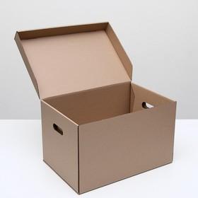 Коробка для хранения  48 х 32,5 х 29,5 см - фото 7798356