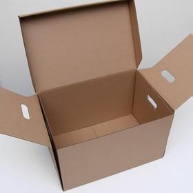 Коробка для хранения  48 х 32,5 х 29,5 см - фото 7798357