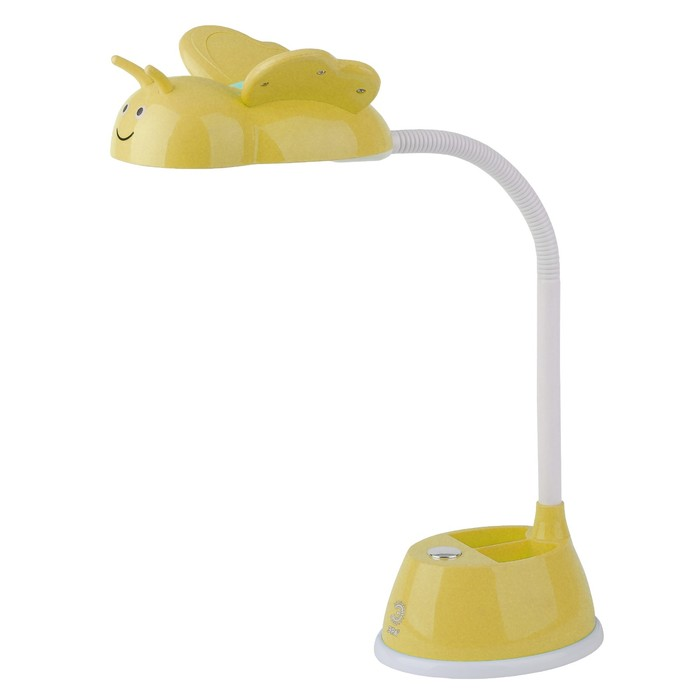 Светильник настольный ЭРА LED 6Вт желтый 12,5х33х45см.