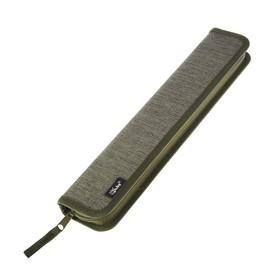 Пенал для кистей, 340 x 70 мм, тканевый, «Оникс», ПКТ 08-41, цвет хаки