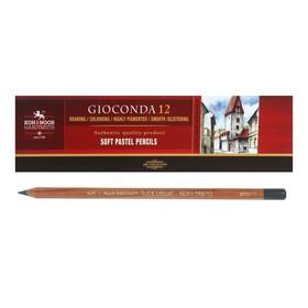 Пастель сухая в карандаше Koh-I-Noor GIOCONDA 8820/17 Soft Pastel, серый-металлик