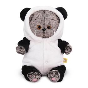 Мягкая игрушка «Басик BABY», в комбинезоне панда, 20 см