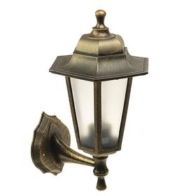 Светильник ITALMAC Nobile, шестигранный, Е27, 60 Вт, IP44, состаренная бронза, настенный