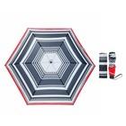Зонт жен мех 3 слож 6 спиц облегченный эпонж MX-18100-1 Fabretti