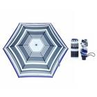 Зонт жен мех 5 слож 6 спиц облегченный эпонж MX-18101-1 Fabretti