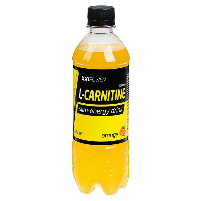 "Напиток газ. XXI век ""L-Карнитин"" апельсин 0,5л"