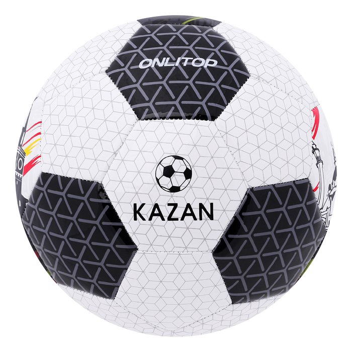 """Мяч футбольный """"KAZAN"""", размер 5, 32 панели, PVC, бутиловая камера, 320 г"""
