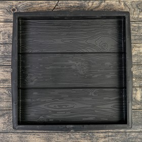 Форма для тротуарной плитки «Плита. 3 доски», 50 × 50 × 5.6 см, Ф13012, 1 шт