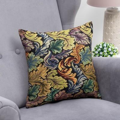 """Pillow case decorative """"Ethel"""" Floral swirl 40x40 cm"""