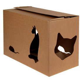 """Home """"House+"""" for cats 55 x 26 x 35 cm"""