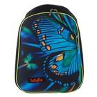 Рюкзак каркасный Hatber Ergonomic light 37*29*17 для девочки, Butterfly