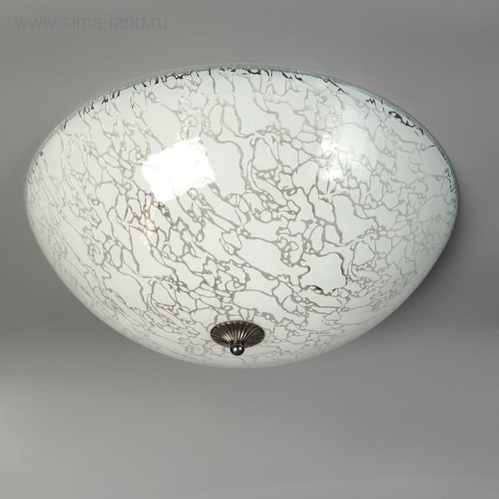 """Светильник """"Мрамор"""" 4x60Вт E27 d.45см"""