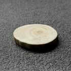 """Спил """"Сосновый"""", круглый, d=3-4 см, h=5 мм,"""