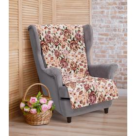 Накидка на кресло 'Этель' Розовый сад 70х160 см Ош