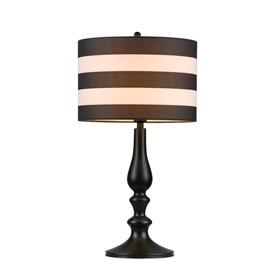 Настольная лампа Sailor 1x40Вт E14 черный 27x27x50см