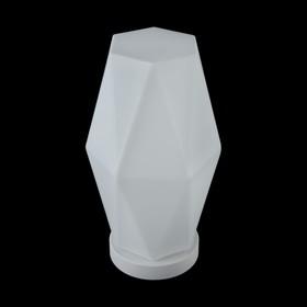 Настольная лампа Simplicity 1x60Вт E27 белый 20x20x36,5см
