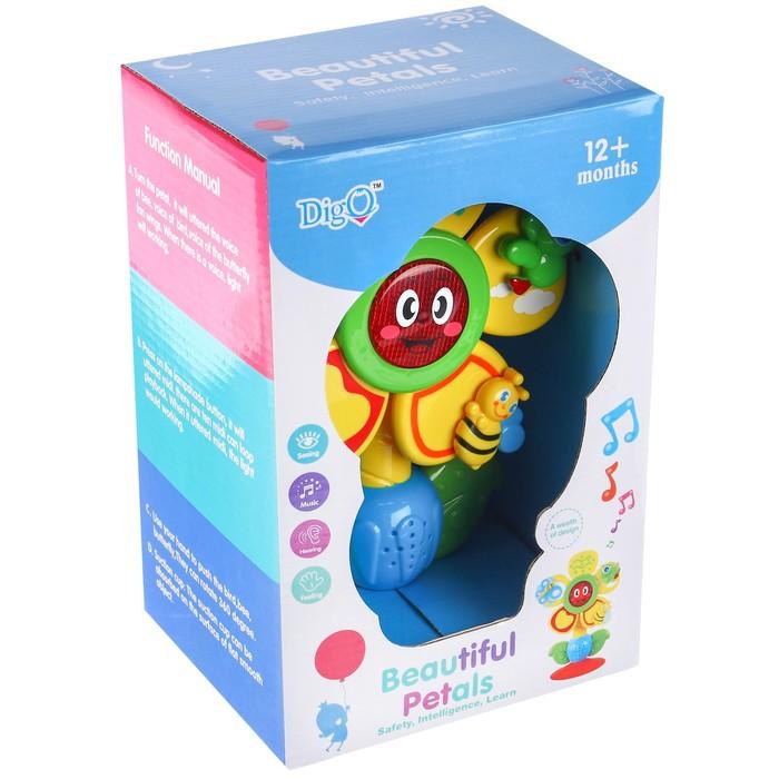Развивающая музыкальная игрушка «Цветочек»