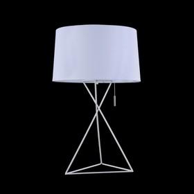 Настольная лампа Gaudi 1x60Вт E27 белый 35x35x54,5см