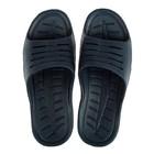 Сланцы пляжные мужские арт. М754, цвет тёмно-синий, размер 43/44