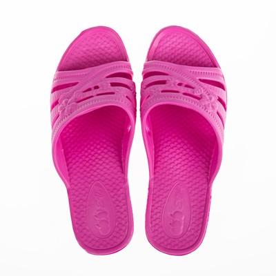 Сланцы пляжные женские арт. Е1118, цвет розовый, размер 36/37