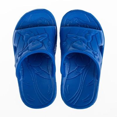Сланцы пляжные детские арт. Д1185, цвет синий, размер 33/34