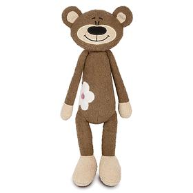 Мягкая игрушка «Медвежонок с цветочком», 33 см