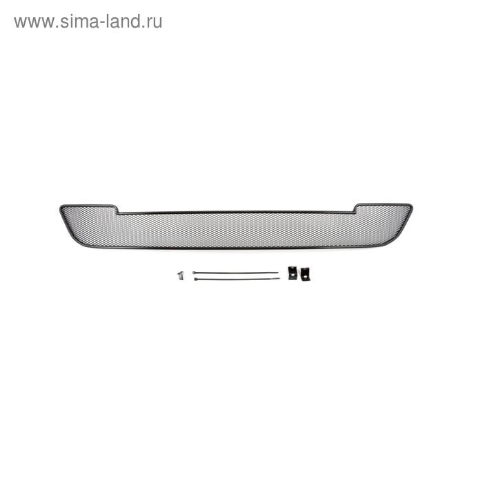 Сетка на бампер внешняя для FORD Mondeo 2015-2016, черн., 10 мм, для автомобилей с хром пакетом   19