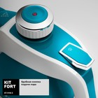 Пароочиститель Kitfort КТ-918-3, 1000 Вт, 220 мл, 3 бар, шнур 5 м, бирюзовый - фото 916783