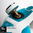 Пароочиститель Kitfort КТ-918-3, 1000 Вт, 220 мл, 3 бар, шнур 5 м, бирюзовый - фото 916784