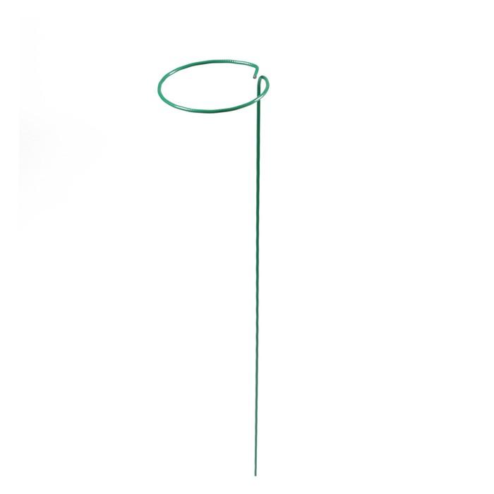 Кустодержатель, d = 15 см, h = 70 см, ножка d = 0.3 см, металл, зелёный