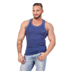 Майка мужская 602 цвет джинс, р-р 48-50 (2XL)