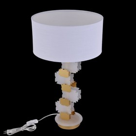 Настольная лампа Valencia 1x60Вт E27 латунь 33x33x56,5см