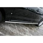 "Пороги ""труба"" d 60 ""Cadillac SRX"" 2007-2010, CDRX.80.0613"
