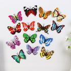 """Magnet """"Butterfly with double wings"""" MIX"""