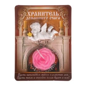 Ангел со свечой 'Хранитель домашнего очага', 9 х 12 см Ош