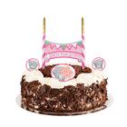 """Свеча в торт Me To You """"С днем рождения"""", 12 х 20 см"""